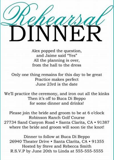Undangan Dinner Bahasa Inggris